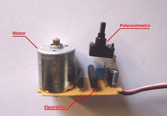 desoldar el motor DC - Electrogeek