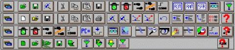 menu programa MPLAB