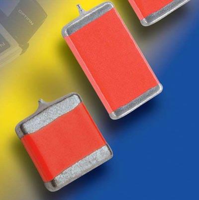 Condensadores de tántalo cualificados