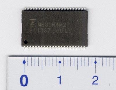 FRAM de 4 Mb con interfaz paralela