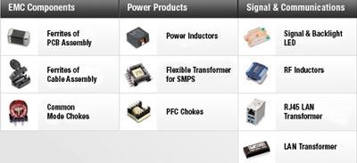 Software selector de componentes