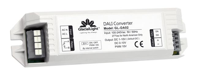 Conversor de interfaz DALI a PWM y CC