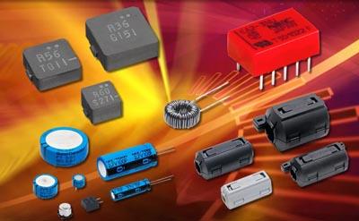 Distribución de componentes