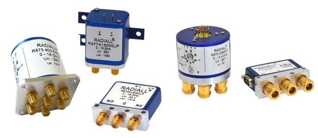 Switches coaxiales de PIM baja