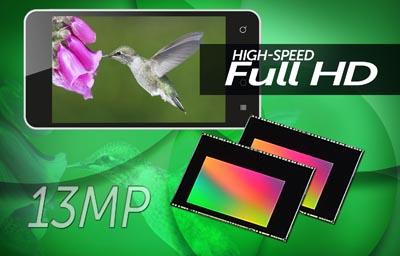 Sensores de imagen CMOS de 13 Megapíxeles