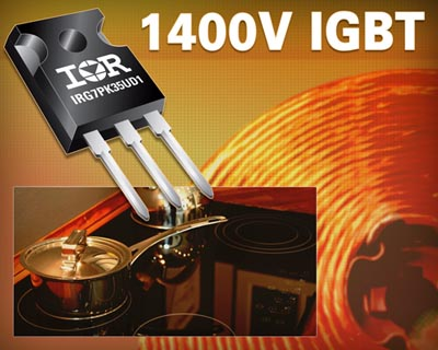 IGBT de 1400 V para inducción