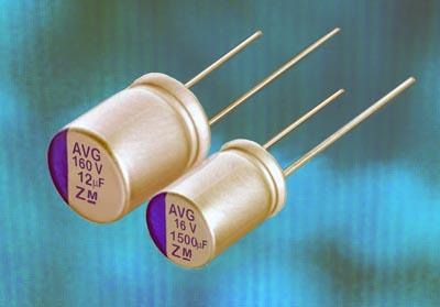 Condensadores de polímero aluminio