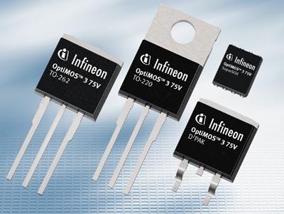 MOSFET de potencia de 200 y 250 V