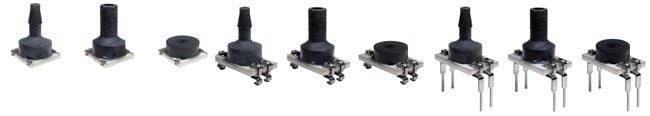 Sensores de presión para montaje en tarjeta