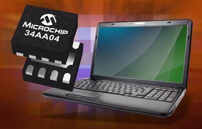 EEPROM SPD de 4Kb para módulos SDRAM DDR4