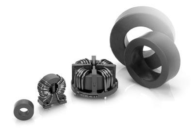 Componentes inductivos para automoción