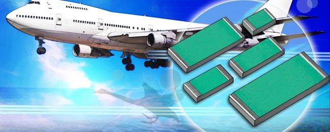 Resistencias chip para aplicaciones militares