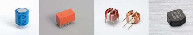 Componentes pasivos y electromecánicos