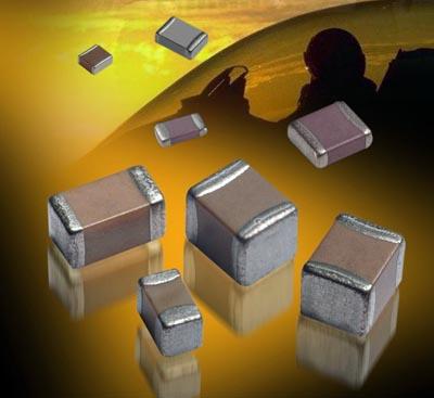 Condensadores cerámicos multicapa