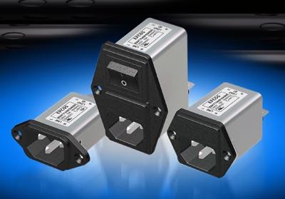Filtros EMC e IEC para fuentes de alimentación