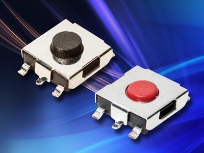 Switches táctiles SMT en miniatura