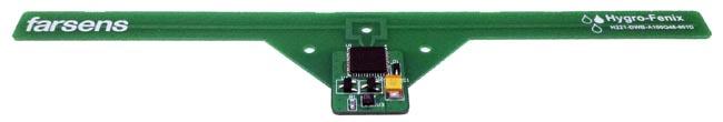 tag RFID con sensor de humedad y temperatura