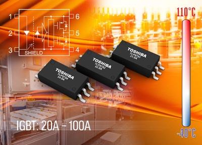 Fotoacopladores para controlar IGBTs y MOSFETs