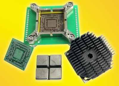 Nuevo diseño de socket BGA