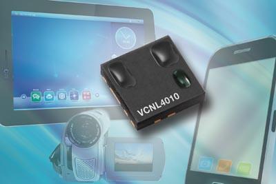 Sensor óptico de proximidad y luz
