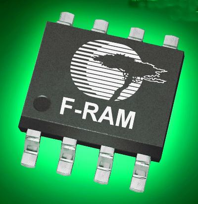 Memoria no volátil F-RAM paralela