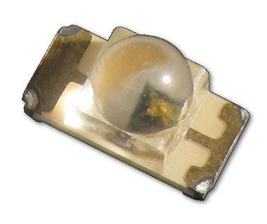 LEDs con lentes de cúpula