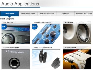 Web para aplicaciones de audio
