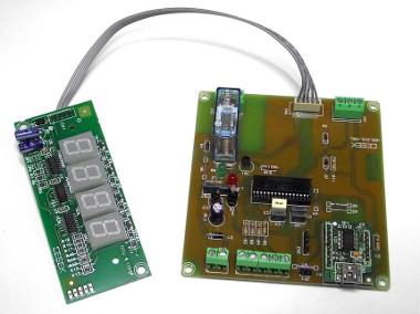 Termostatos con conexión USB