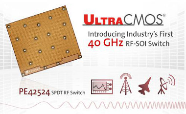 Switch RF SOI de 40 GHz