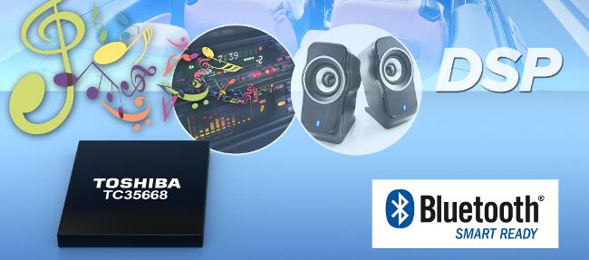 Integrado Bluetooth con DSP integrado