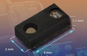 Sensor de proximidad y de luz ambiente