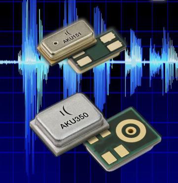 Micrófonos analógicos de alto rendimiento
