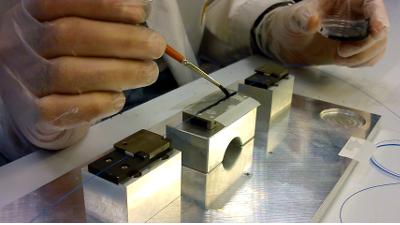 Sensores ópticos para experimentos