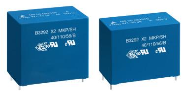 Condensadores para EMI con resistencia a la humedad