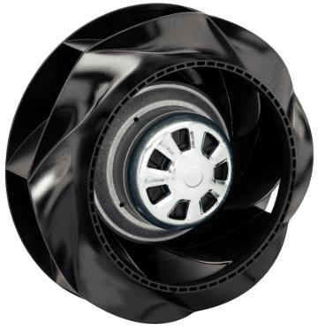 Ventilador radial curvado de alta eficiencia