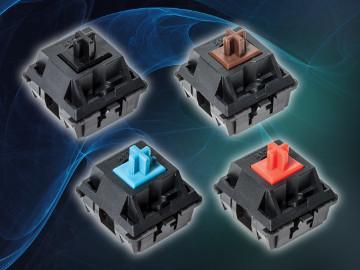 Interruptores de teclado para 50 millones de ciclos