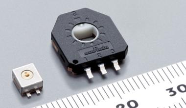 Sensor de posición giratorio ultra compacto
