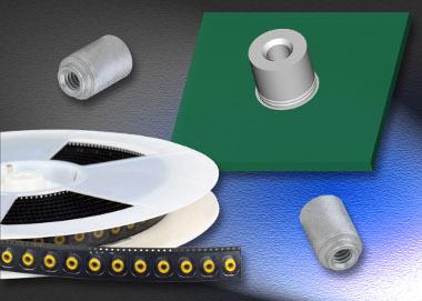 Elementos de sujeción de montaje superficial para PCB