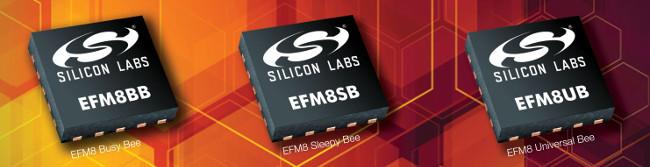 Microcontroladores de 8 bit productivos