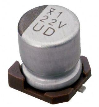 Condensadores electrolíticos de aluminio SMD