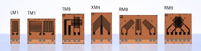 Bandas extensométricas para materiales compuestos