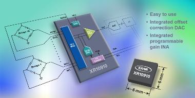 Interfaz de sensor altamente integrada