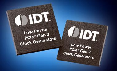 Generadores de reloj PCIe de 3.3 V