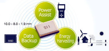 Condensador en chip ajustable y de baja impedancia