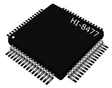 Receptores autónomos ARINC 429 sin MCU