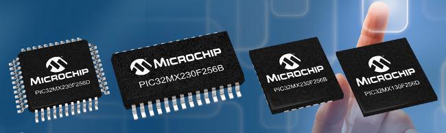 Microcontroladores de 32 bit con 256 KB de Flash