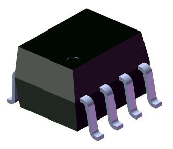Optoacoplador de puerta lógica