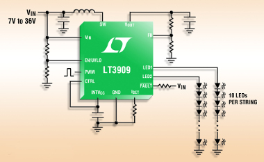 Driver LED de corriente constante