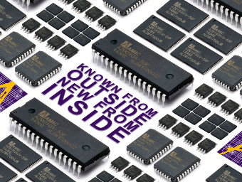 Memorias de 5 V multiformato