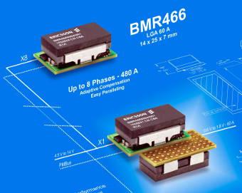 Convertidor con densidad de potencia de 24 A por cm3